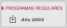 Programas 2003