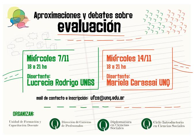Aproximaciones y debates sobre evaluacion