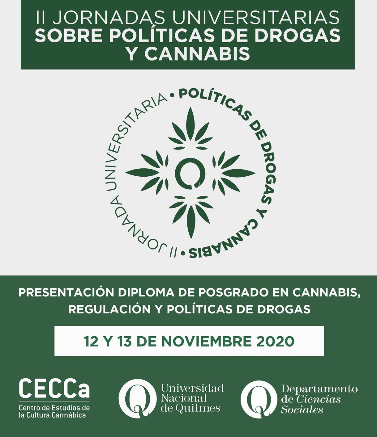 Jornadas Universitarias sobre Políticas de Drogas y Cannabis